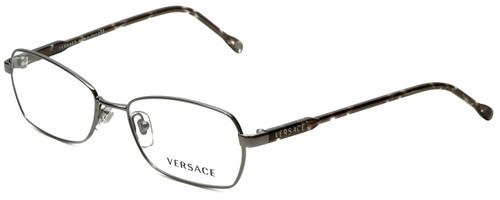 4ac70497ef9 Versace Designer Eyeglasses 1181-1262 in Gunmetal Black 53mm    Rx ...