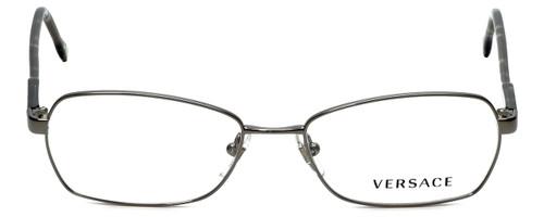 540623329ee Versace Designer Eyeglasses 1192-1001 in Gunmetal 52mm    Custom Left    Right Lens