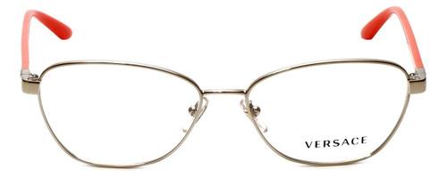 Versace Designer Eyeglasses 1221-1252 in Pale Gold/Orange 54mm :: Custom Left & Right Lens