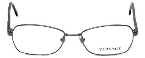 Versace Designer Eyeglasses 1192-1001 in Gunmetal 52mm :: Rx Bi-Focal