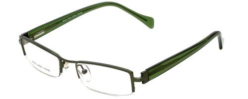 Moda Vision Designer Eyeglasses E3108-GRN in Green 49mm :: Custom Left & Right Lens