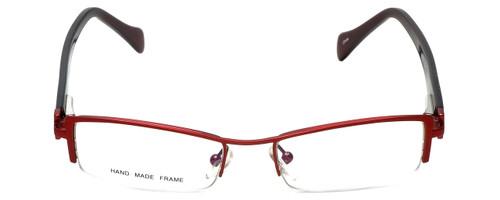 Moda Vision Designer Eyeglasses E3108-RED in Red 49mm :: Custom Left & Right Lens