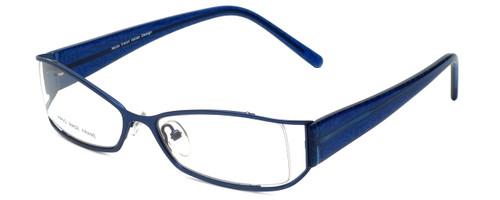 Moda Vision Designer Eyeglasses FG6501E-BLU in Blue 53mm :: Custom Left & Right Lens