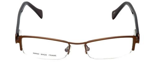Moda Vision Designer Eyeglasses E3108-BRN in Brown 49mm :: Rx Single Vision