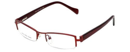 Moda Vision Designer Eyeglasses E3108-RED in Red 49mm :: Rx Single Vision