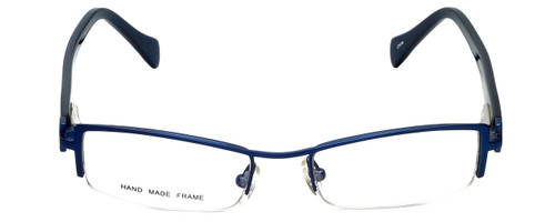 Moda Vision Designer Eyeglasses E3108-BLU in Blue 49mm :: Progressive