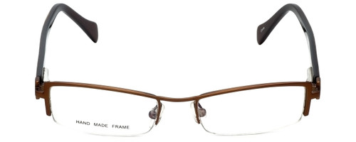 Moda Vision Designer Eyeglasses E3108-BRN in Brown 49mm :: Progressive