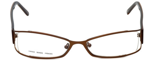 Moda Vision Designer Eyeglasses FG6501E-BRN in Brown 53mm :: Progressive