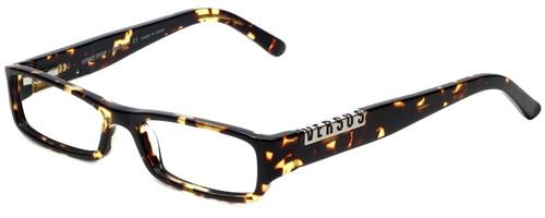 Versus by Versace Designer Reading Glasses 8069-671 in Tortoise 50mm