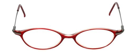Ellen Tracy Designer Eyeglasses ET3004-RD in Red 47mm :: Progressive