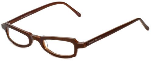 Ellen Tracy Designer Eyeglasses ET3011-BRN in Brown 47mm :: Progressive