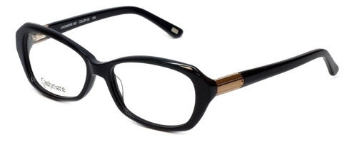 Silver Dollar Designer Reading Glasses Cashmere 452 in Caviar 53mm