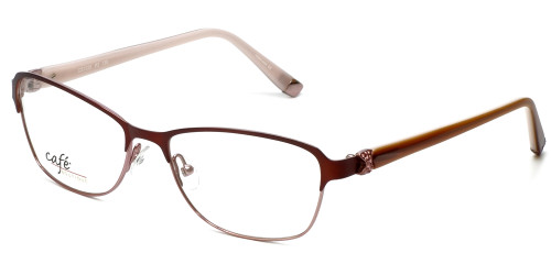 Silver Dollar Designer Reading Glasses CB1025 in Wine 53mm