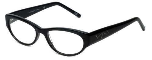 Cinzia Designer Reading Glasses CBR05 in Black 50mm