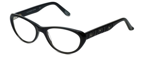 Cinzia Designer Reading Glasses CBR06 in Black 53mm