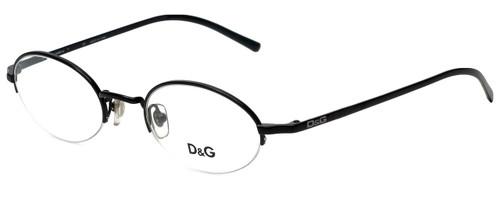 Dolce & Gabbana Designer Reading Glasses DG5058-01-45 in Black 45mm