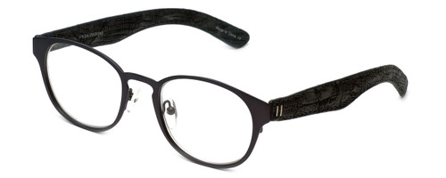 Cinzia Designer Reading Glasses The Innovator C3 in Grey 49mm