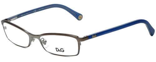 Dolce & Gabbana Designer Reading Glasses DG5089-1004 in Gunmetal/Blue 52mm