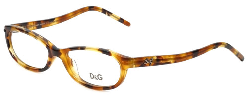 Dolce & Gabbana Designer Eyeglasses DG1125-623 in Tortoise 51mm :: Custom Left & Right Lens