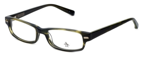 Original Penguin Designer Reading Glasses The Clemens in Olive 52mm