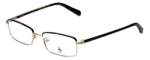 Original Penguin Designer Reading Glasses The Granger in Gold 53mm