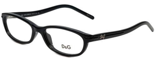 Dolce & Gabbana Designer Reading Glasses DG1125-501 in Black 51mm