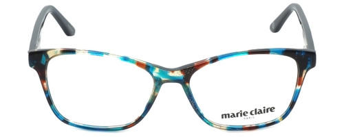 Marie Claire Designer Eyeglasses MC6202-TLE in Teal Mix 52mm :: Custom Left & Right Lens