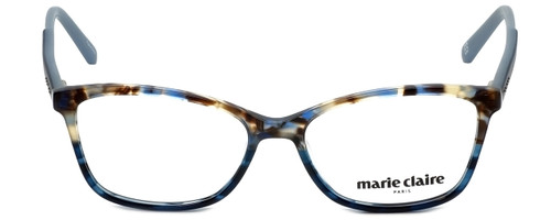 Marie Claire Designer Eyeglasses MC6209-BLA in Blue Amber 52mm :: Custom Left & Right Lens