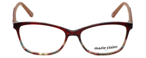 Marie Claire Designer Eyeglasses MC6209-REA in Red Amber 52mm :: Custom Left & Right Lens