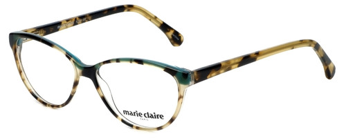 Marie Claire Designer Eyeglasses MC6201-TBL in Tortoise Blue 53mm :: Rx Single Vision