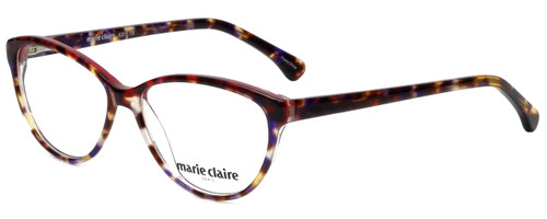 Marie Claire Designer Eyeglasses MC6201-TRE in Tortoise Red 53mm :: Rx Single Vision