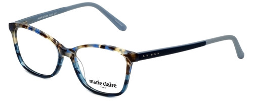Marie Claire Designer Eyeglasses MC6209-BLA in Blue Amber 52mm :: Rx Single Vision