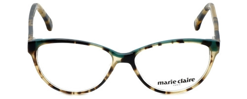 Marie Claire Designer Eyeglasses MC6201-TBL in Tortoise Blue 53mm :: Progressive