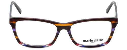 Marie Claire Designer Eyeglasses MC6220-SLV in Stripe Lavender  53mm :: Progressive