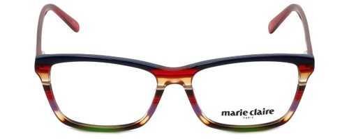 Marie Claire Designer Eyeglasses MC6220-SRE in Stripe Red 53mm :: Progressive