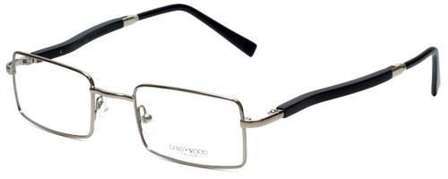 Gold & Wood Designer Eyeglasses 410.16-E6 in Silver 47mm :: Rx Single Vision