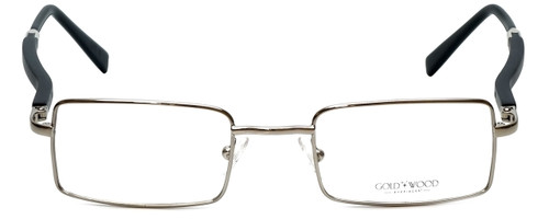 Gold & Wood Designer Eyeglasses 410.16-E6 in Silver 47mm :: Rx Bi-Focal