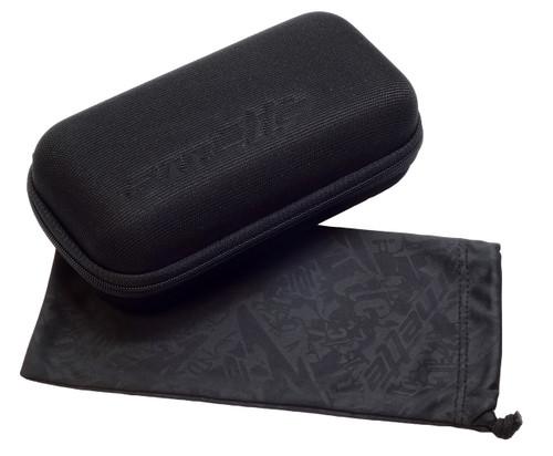 Arnette Designer Sunglasses Swindle AN4218-23256G in Burgundy Black with Silver Mirror Lens