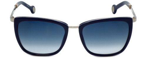 Carolina Herrera Designer Sunglasses SHE068-579B in Blue