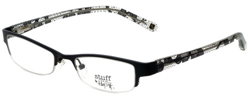 Hilary Duff Designer Reading Glasses HD121077-001 in Black Lace 49mm