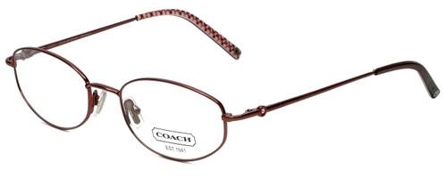 Coach Designer Eyeglasses HC108-Bordeaux in Bordeaux 51mm :: Custom Left & Right Lens