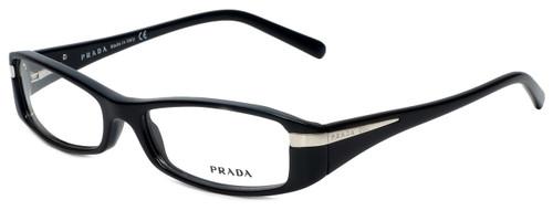 Prada Designer Reading Glasses VPR14H-1AB1O1 in Black 53mm