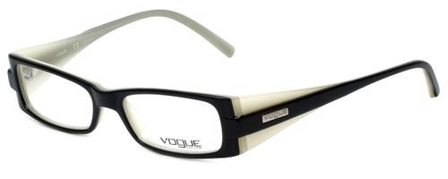 Vogue Designer Eyeglasses VO2389-1393 in Black White 49mm :: Custom Left & Right Lens