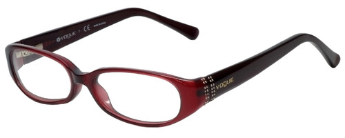 Vogue Designer Eyeglasses VO2555-1639 in Purple 49mm :: Custom Left & Right Lens