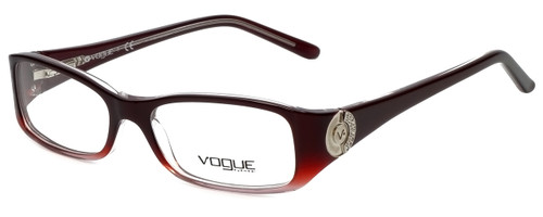 Vogue Designer Eyeglasses VO2624B-1849 in Burgundy 50mm :: Custom Left & Right Lens