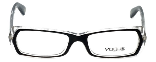 Vogue Designer Eyeglasses VO2691-1688 in Glitter Black Clear 51mm :: Custom Left & Right Lens