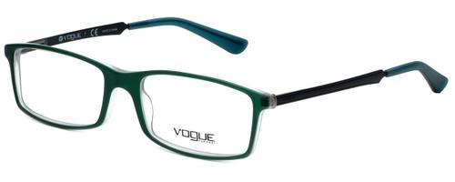 Vogue Designer Eyeglasses VO2867-2169S in Matte Green 54mm :: Custom Left & Right Lens