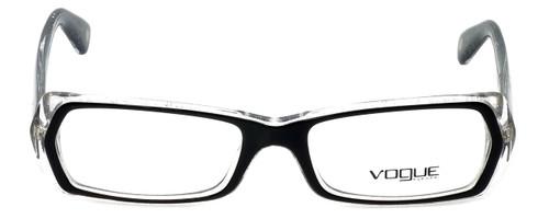 Vogue Designer Eyeglasses VO2691-1688 in Glitter Black Clear 51mm :: Rx Single Vision