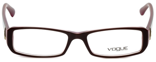 Vogue Designer Eyeglasses VO2768B-1941 in Top Brown Pink 53mm :: Rx Single Vision