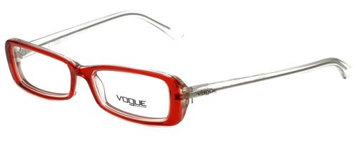 Vogue Designer Eyeglasses VO2450-1445 in Red Crystal 50mm :: Progressive
